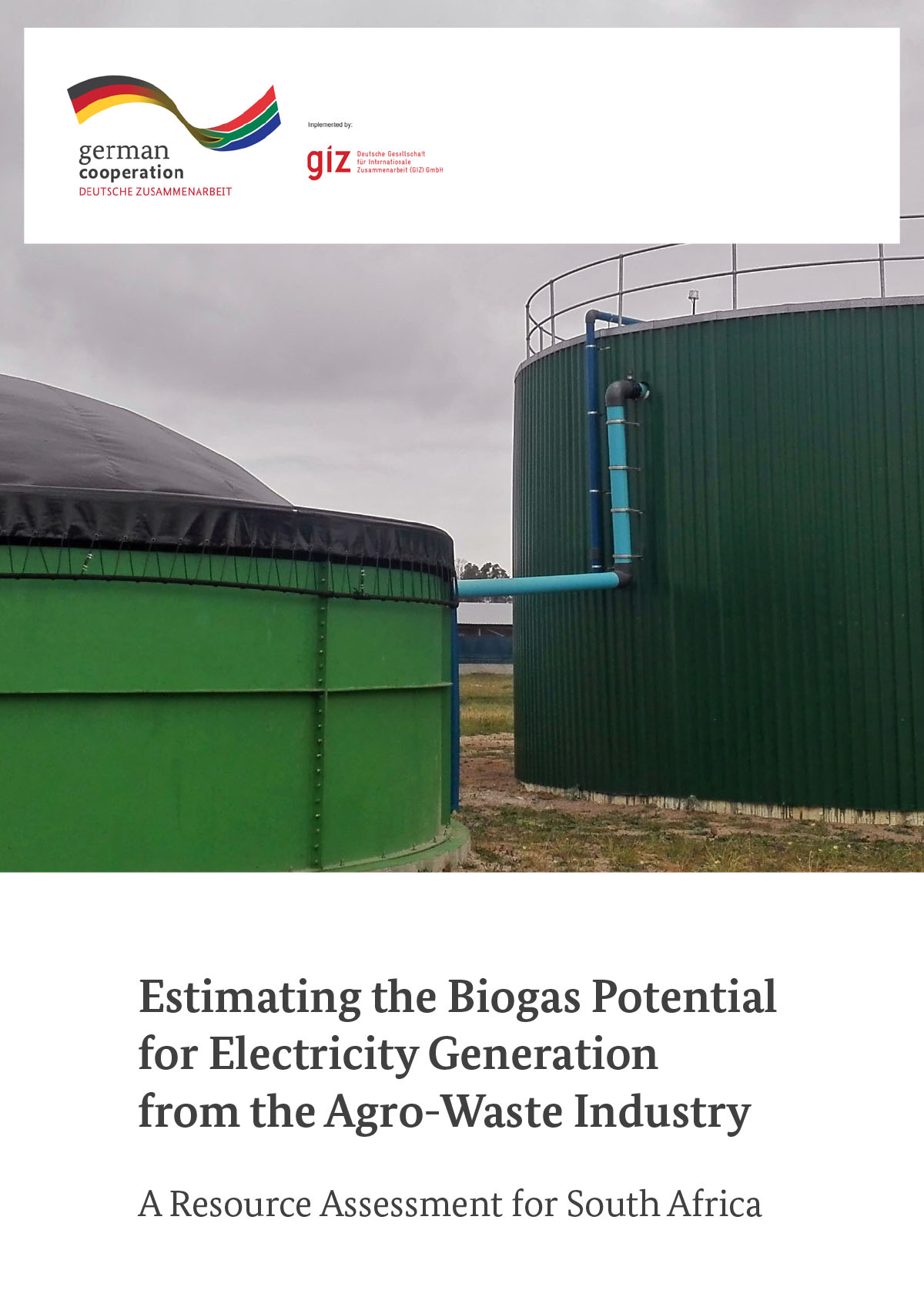 Assessment of Biogas Potential from Agro-Waste in South Africa