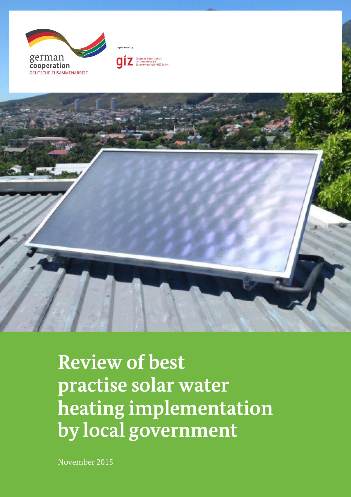 Review of Best Practice of SWH Implemented by Local Government