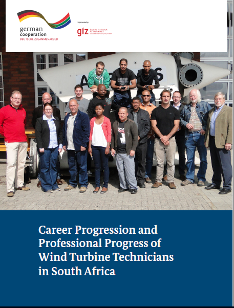 Career progression and professional progress of Wind Turbine Technicians in South Africa