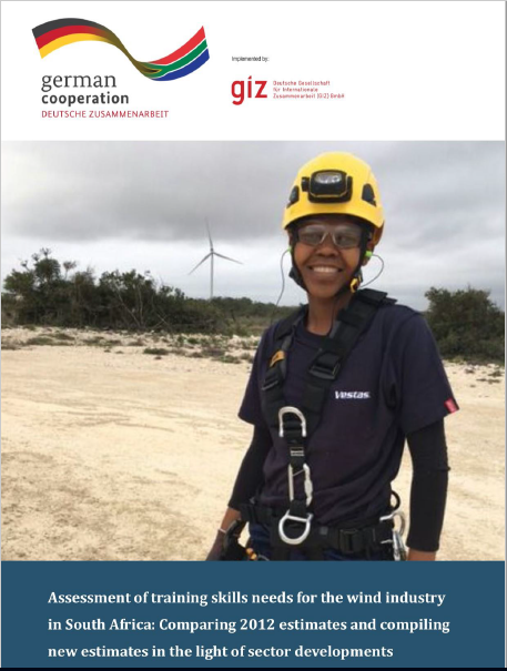 Assessment of training skills needs for the wind industry in South Africa: Comparing 201 estimates and compiling new estimates in the light of sector developments