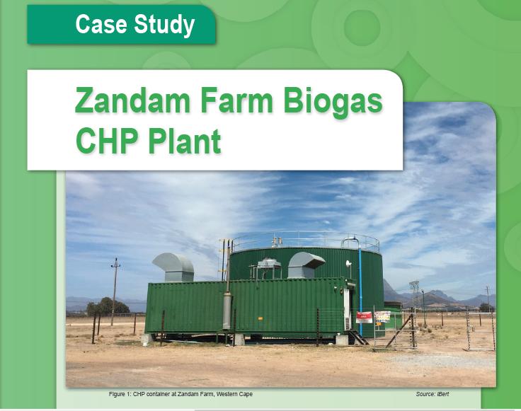 Biogas utilisation at Zandam Cheese Factory: Case Study