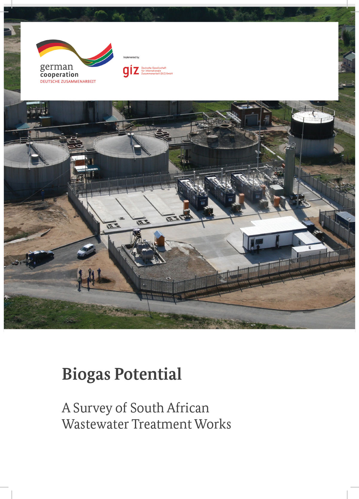 Assessment of Biogas Potential from WWTP in South Africa