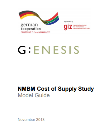 Cost of Supply Study: Spreadsheet Model