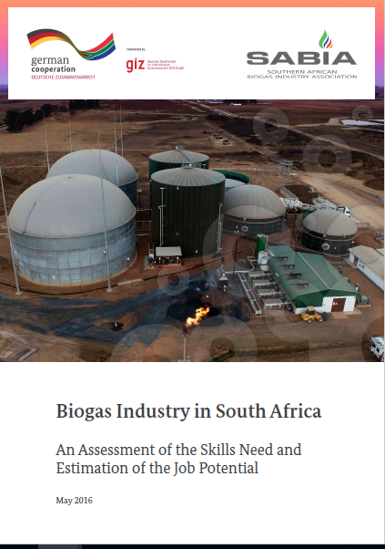 Assessment of Skills Needs and Estimation of the Job Potential for the Biogas Industry in South Africa