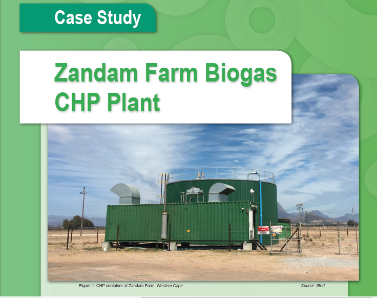 Biogas utilisation at Zandam Cheese Factory: Case Study